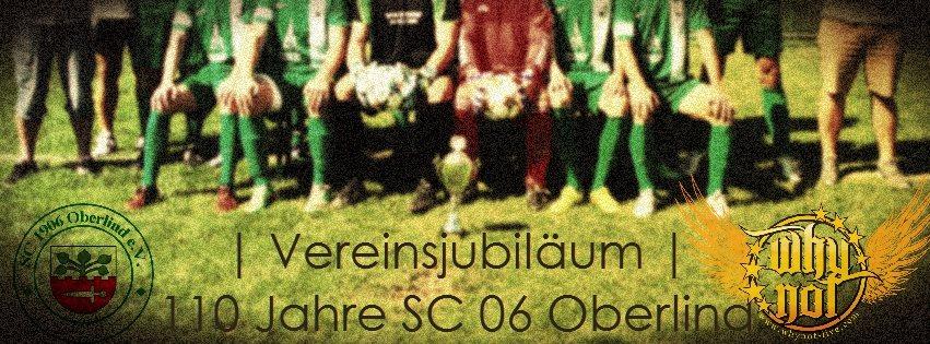FUßBALL-ROCKNACHT zum Vereinsjubiläum 110 Jahre SC 06 Oberlind