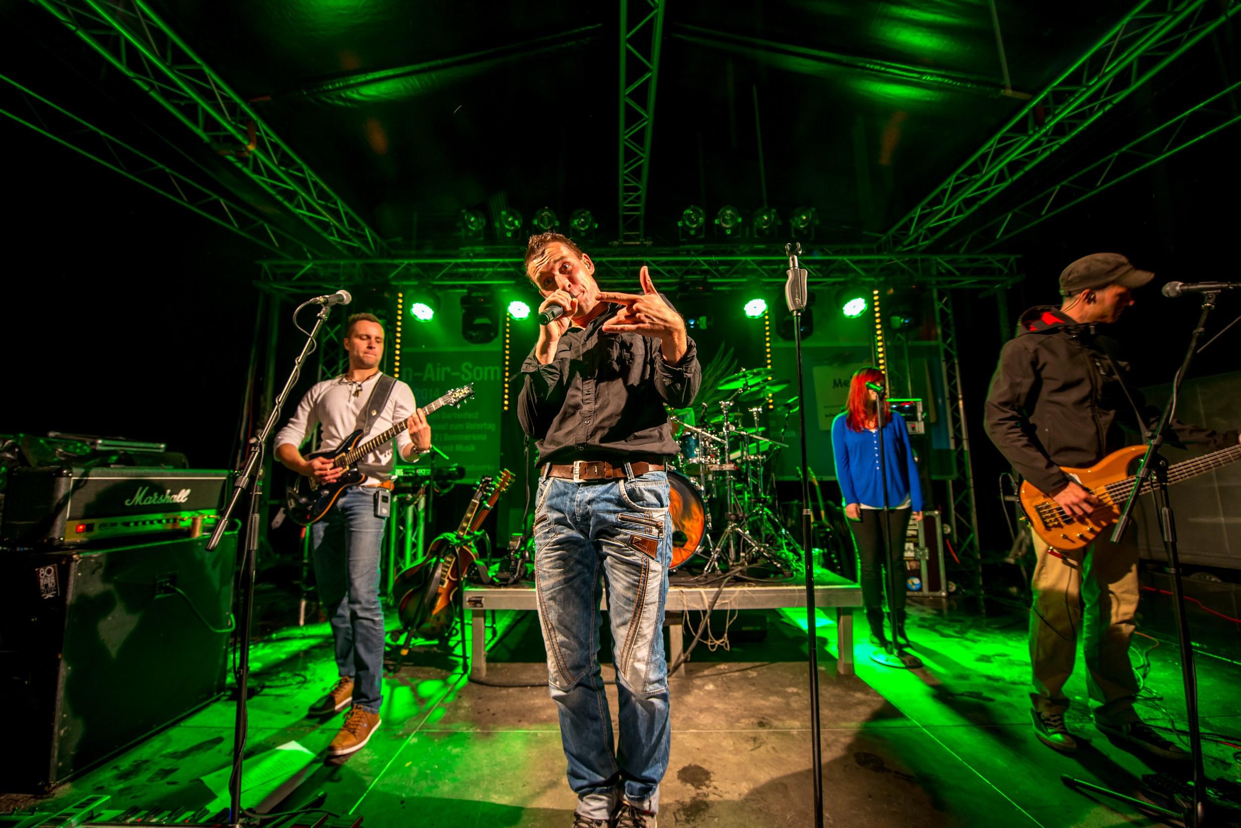WHY NOT rockt die Parkbühne im Ega Park Erfurt