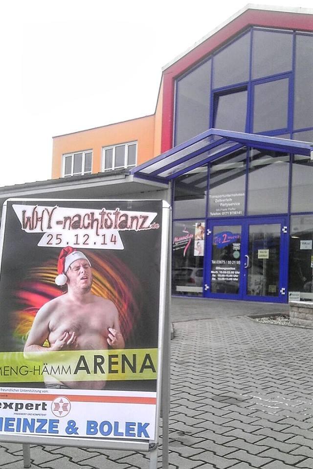 Vorverkauf im Fit2Move Fitnessstudio in Sonneberg!