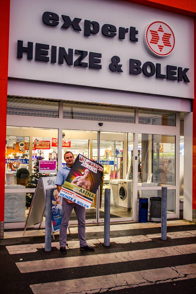 Kartenvorverkauf WHYnachtstanz bei Expert Heinze&Bolek Neustadt bei Coburg